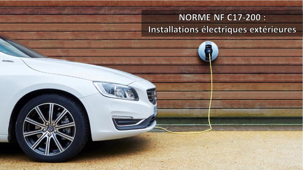 Installations électriques extérieures