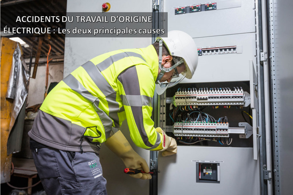 accidents du travail d'origine électrique